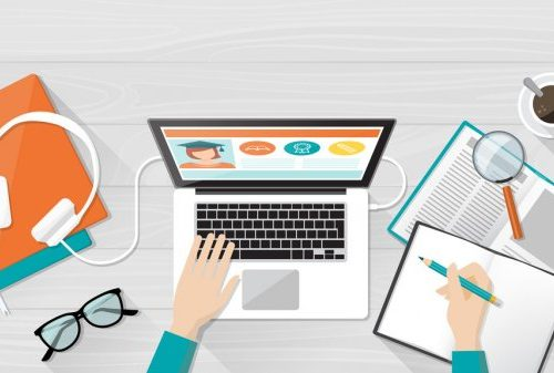 depositphotos 110818782 stock illustration e learning education and university 500x337 - Top Perks of Online Learning Websites for Students